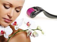 Роликовый массажер для лица Skin Roller - мезороллер, фото 1