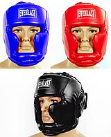Шлем боксерский с полной защитой PU EVERLAST (р-р S-L)