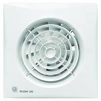Soler & Palau SILENT-200 CRZ *230V50*  - бытовой вентилятор с таймером и обратным клапаном