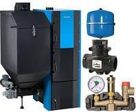 Пакетное предложение Buderus Logapak G221-A-25-L, VTC511 1 1/4, KSG 50 кВт, MAG25 с автомат. загруз. топлива