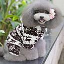 Комбинезон флисовый для собак Олени р.М, фото 2