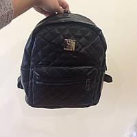 Модный черный рюкзак для взрослых и подростков
