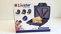 Бутербродница гриль (сэндвичница) Livstar LSU-1213
