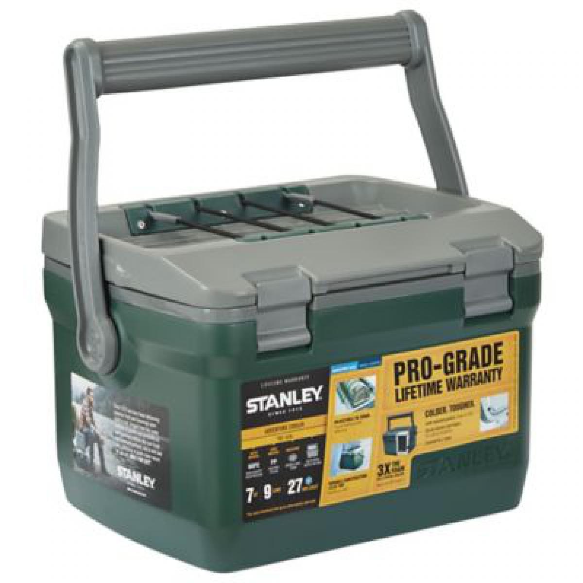 Термобокси Stanley Adventure 6.6 л зелений (сумка холодильник, термосумка пластикова, термо контейнер)
