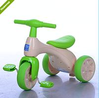 Велосипед трехколесный детский 601S-5 салатовый ***
