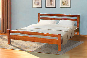 Кровать двуспальная деревянная Венера    Микс мебель, цвет орех, фото 2