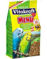 Корм Vitakraft Menu для волнистых попугаев, 1 кг