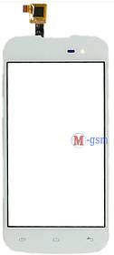 Сенсор (тачскрин) для телефона GIGABYTE GSMART REY R3 белый