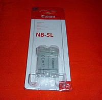 Аккумулятор Батарея Canon NB-5L / 1050mAh