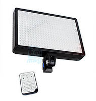 Профессиональный накамерный светодиодный свет LED-336, 3000K-6000K + АБ+ДУ.