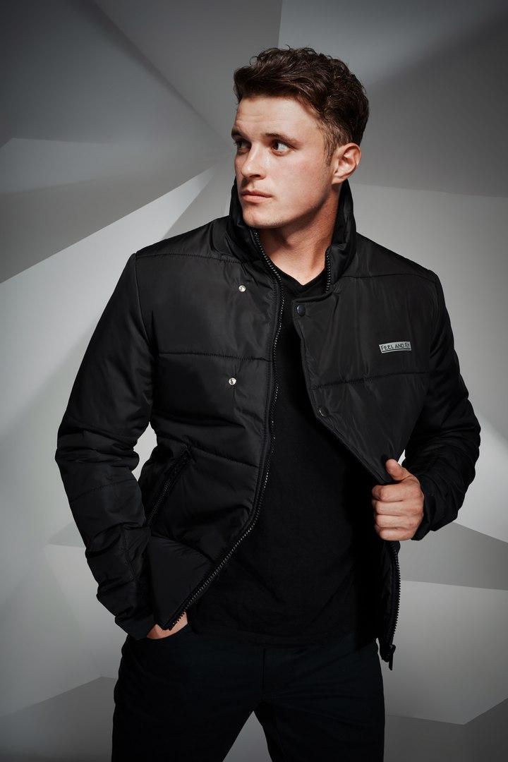 Куртка мужская Button черная