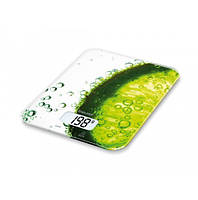 Весы кухонные электронные Beurer KS 19 Freshстеклянные (до 5 кг)
