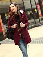 Молодежная стильная женская куртка парка + меховая подстежка. Хорошее качество. Доступная цена. Код: КГ1915