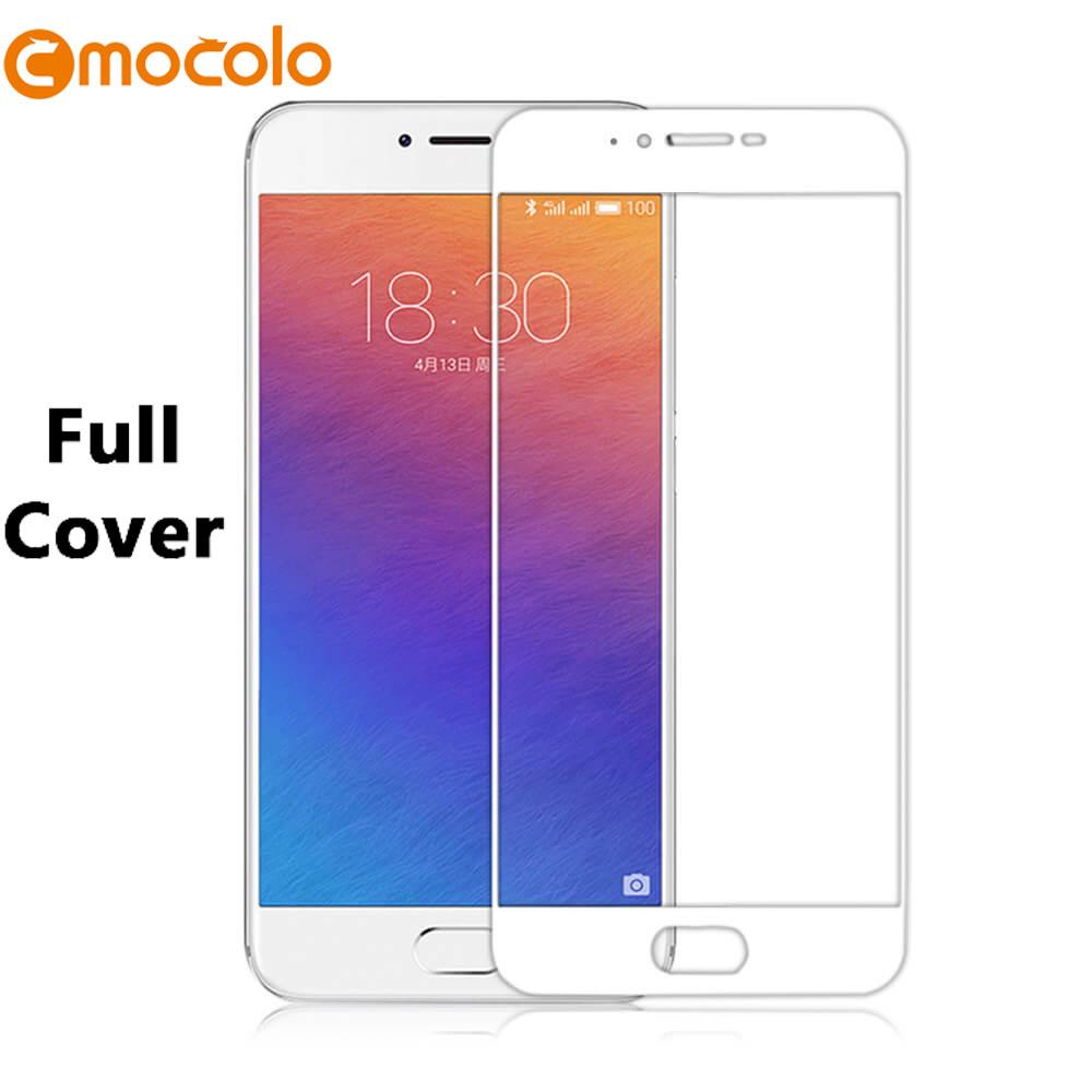 Защитное стекло Mocolo 2.5D 9H на весь экран для Meizu Pro 7 Plus белый
