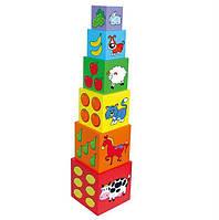 "Набор кубиков ""Пирамидка"" 59461"