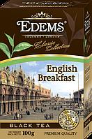 Черный листовой чай с легким ароматом бергамота «Edems English Breakfast», 100г