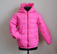 Детская куртка для девочки демисезонная