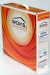 Теплый пол Woks 17-135 двухжильный кабель 8.5 метров