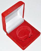 Подарочная коробочка, для часов, браслетов, красная с белым 28_3_79