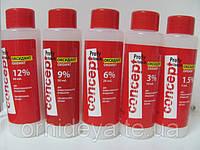 Оксидант ( Окислювач ) - 1,5%, 3%, 6%, 9%, 12% . Profi Touch, Concept 60мл