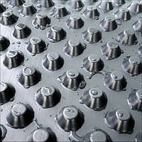 Шиповидная мембрана Вентфол Power 850 г/м2 для защиты стен фундаментов, гидроизоляции, дренажа
