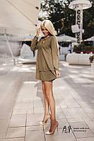 Платье замшевое в расцветках 20515, фото 1
