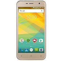 """Prestigio Смартфон Muze B7 7511 Dual Sim Gold; 5"""" (1280х720) IPS / MediaTek MT6580А / камера 13 Мп + 2 Мп / ОЗУ 2 ГБ / 16 ГБ встроенной + microSD до"""