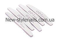 Пилка для ногтей OPI 100/100, полукруг, серая (размер в ассортименте)