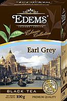 Черный листовой чай с ароматом бергамота «Edems Earl Grey», 100г