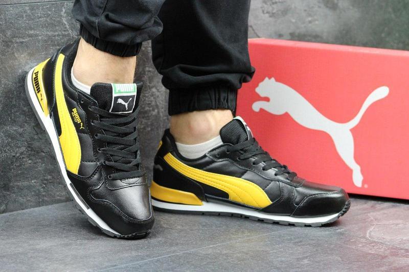 339e71286dbf2d Чоловічі кросівки Puma RX 727 - чорні з жовтим , цена 960 грн./пара ...