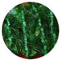 Дождик (мишура) 2,5 см (3м) (зеленый), фото 1