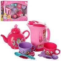 Игровой набор чайник с посудой «Princess»YY-379-3