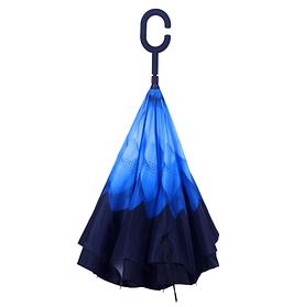 Зонт обратного сложения ветрозащитный