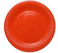 Тарелочка красная 18см