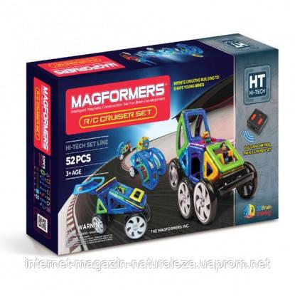 Магнитный конструктор на радиоуправлении Magformers Суперкар  52 эл.