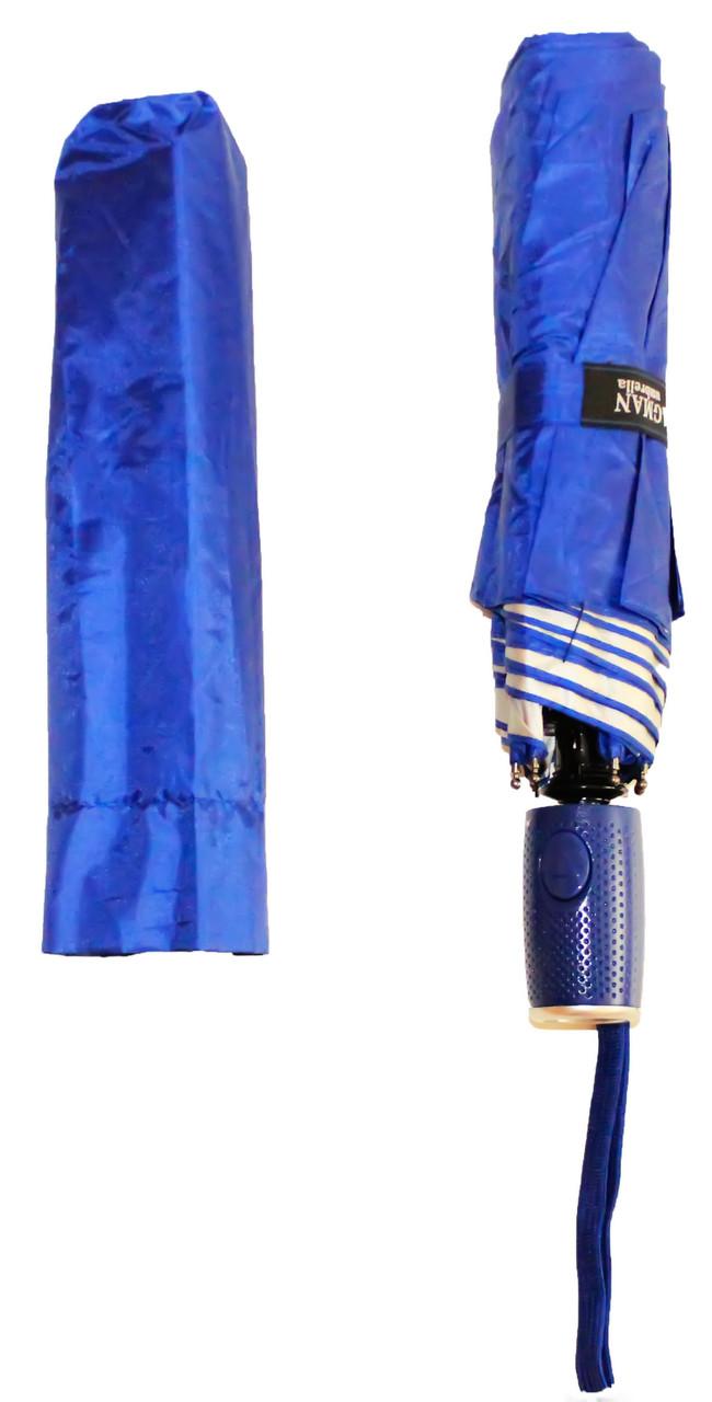 Женский однотонный зонт полуавтомат