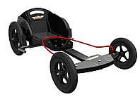 Карт детский Kiddimoto Box Kart фанерный, дизайн GT Racing (BB)