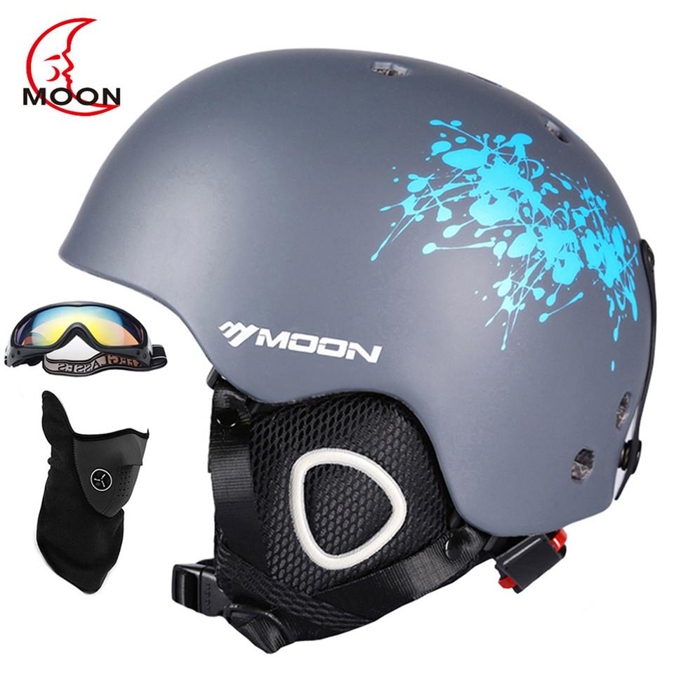Горнолыжный / сноубордический шлем DOTOMY MOON (Gray + Blue Ink)