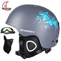 Горнолыжный / сноубордический шлем DOTOMY MOON (Gray Ink)