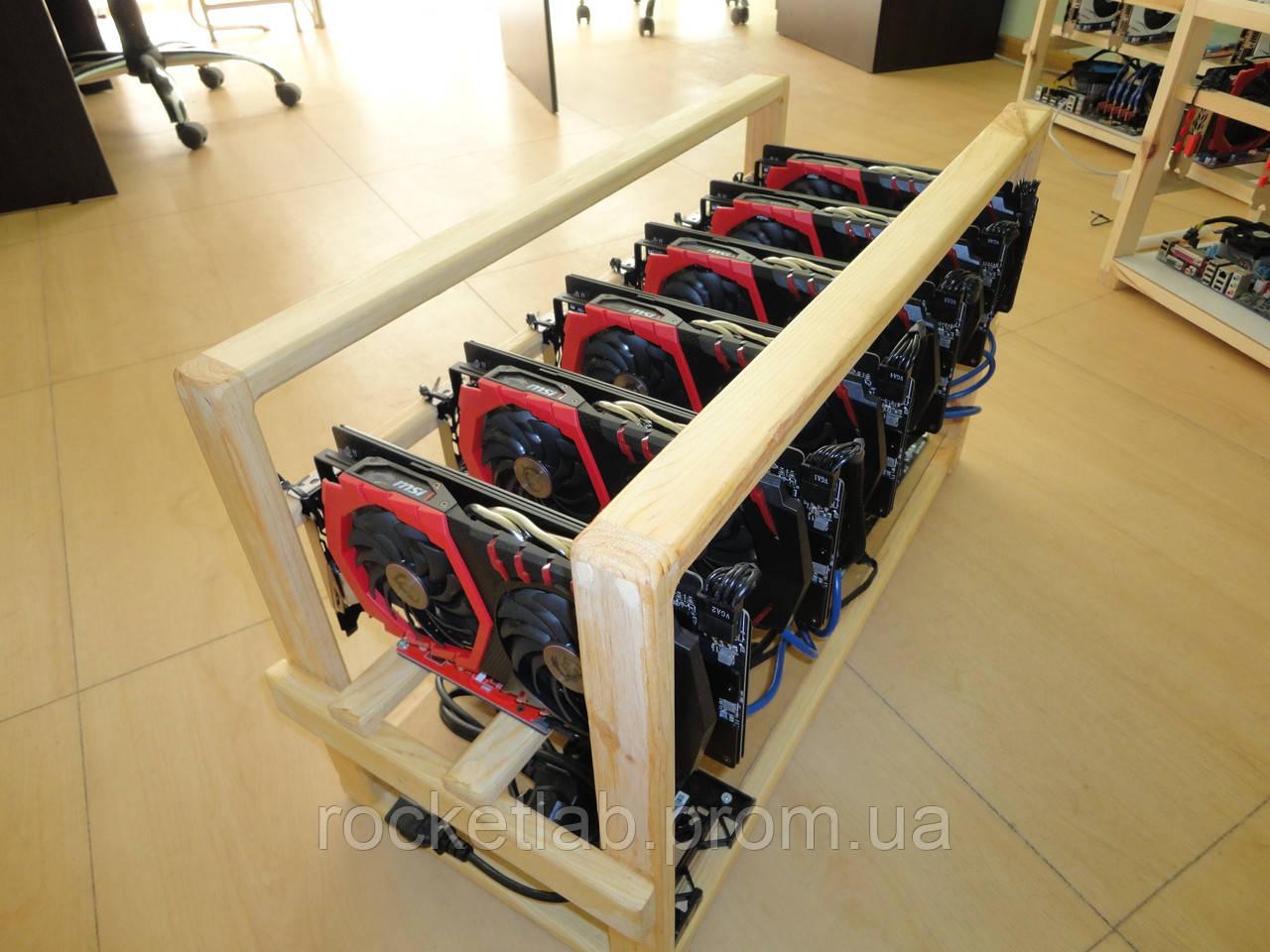 Сборка и настройка майнинг-фермы под ключ (GPU фермы) - RocketLab Лаборатория майнинга в Харькове