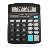 Калькулятор Кинли KK-838-12S,  двойное питание