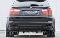 Юбка  заднего бампера BMW X5