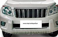 Защита переднего бампера Toyota Land Cruiser