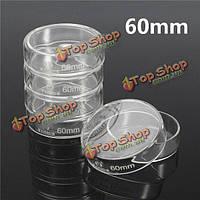 Стеклянные чашки Петри 60мм 5шт