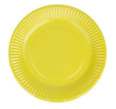 Тарелочка желтая 18см