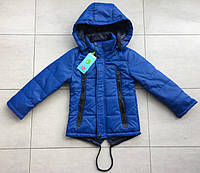 Детская куртка ветровка парка для мальчика 3-4 года (104 см). Демисезонная осень