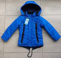 Детская куртка ветровка парка для мальчика 6-7 лет. Демисезонная осень