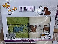 Детский набор кухонных полотенец в подарочной упаковке
