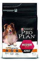 Pro Plan Adult Medium Optihealth Chicken & Rice корм для собак с курицей и рисом