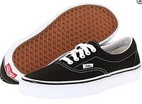 Модные Кеды женские  Vans Era (black/white) - 11w